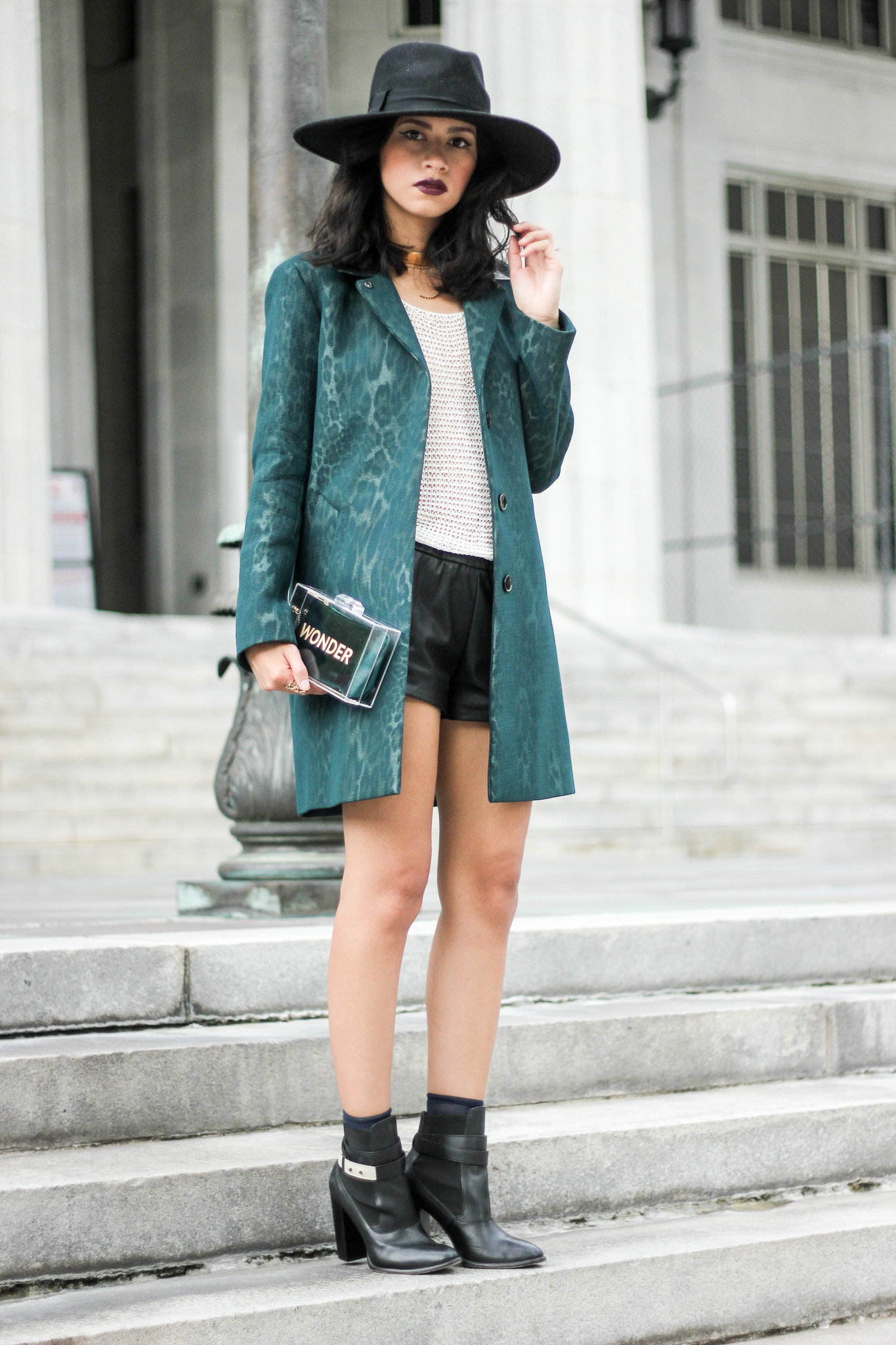 Sandro Paris x Saks , Urban Outfitters , Zara , wide brimmed hat , Vanessa Mooney , Gorjana Nordstrom