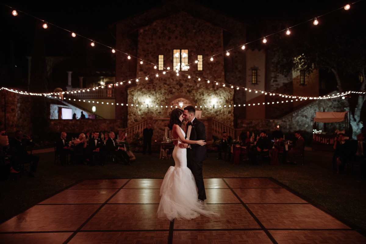 Pretty Stellar Wedding Bella Collina Vera Wang